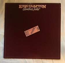 """Vinyl: Eric Clapton: """"Another Ticket"""" Great Condition"""