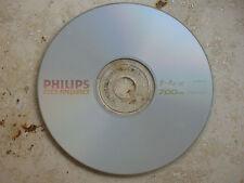 5 Philips CD-RW 80, 700 MB , Datenträger gelöscht