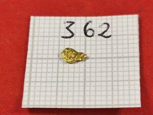 Alaska Yukon GOLD NUGGET Gold Nuggets! #362 Goldbarren Goldnugget Münze Coin