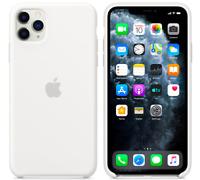 "iPhone 11 Pro 5.8"" Apple Original Véritable Coque en silicone - Blanc"
