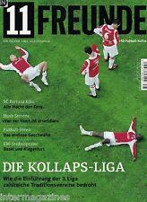 11 Freunde Mai Nr.78/2008,Neue 3.Liga,Huub Stevens,Fortuna Köln,AS Rom,J.Greaves