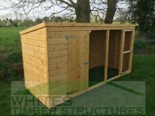 Dog Kennel and Run 12x4