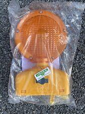 Cortina 3way Sundowner Barricade Light Construction Zone Orange Flash D Cell