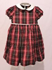 Gymboree Holiday Classics Plaid Christmas Dress Sz 2t Girls Party Dressy
