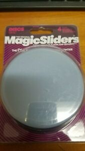 "Magic Sliders  Floor Slide 4"" Pack of 4 # 04100"
