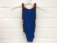 Adidas Kinder Badeanzug OCC Swim (BS0224) blau-rosa Gr. 116-170     NEU!!!