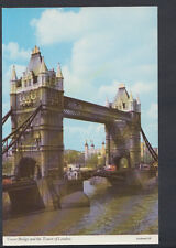London Postcard - Tower Bridge and The Tower of London   RR2217