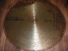 """Dessauer Marsch Kalliope Blechplatte 45cm Automat 108G music box 17 1/2"""" disc"""
