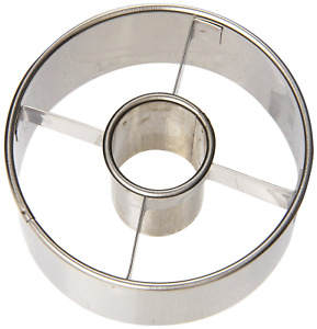 Harold Import Company 14423 Ateco 3-1/2-Inch Stainless Steel Doughnut Cutter