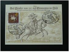 postal history horse courier maximum card Germany ref 083-19