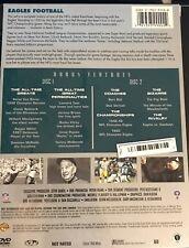 NFL History of The  PHILADELPHIA EAGLES  BRAND NEW 2 DVD Set