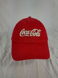 COCA COLA Coke American Needle Cotton Hat Cap Red Adult Size VGC  FREE OZ POST