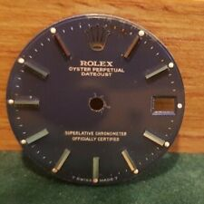 Rolex original Lady 26mm Blue dial, yellow gold bars,