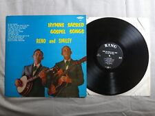 Reno & Smiley himnos sagrado Evangelio canciones nos King Records Lp Mono 693!