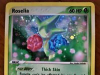 Pokemon Roselia 9/97 EX Dragon Holo RARE Card, Mint to near mint