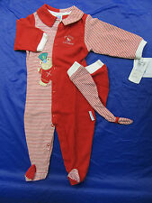 Little Me Infant My First Christmas Romper Stocking Cap Sz 9m NEW