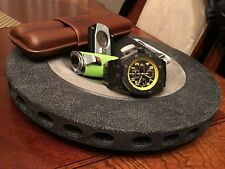 Carbon Formula 1 Brake Rotor Watch Holder/ashtray cigar ashtray cigar humidor