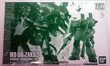 HG ZAKU II [GUNDAM THUNDERBOLT] Limited Clear Ver. (GUNDAM PRODUCT ART Limited)
