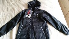 BNWT BHS Flipback boys lightweight anorak coat with hood, jacket age 8 years