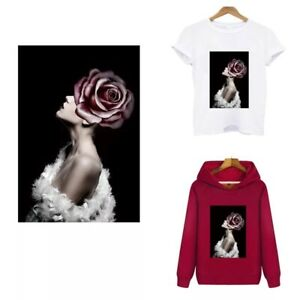 """Fashion Beauty"" Washable Fabric Iron-on Transfers (DIYTM271FBEAU)"