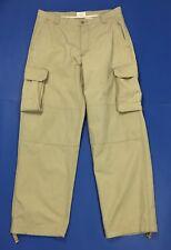Gap khakis cargo pantalone uomo usato W34 L34 tg 48 relaxed boyfriend T3197