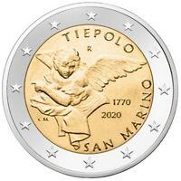 2 euro Saint-Marin 2020 BU - Tiepolo
