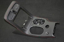 2005-2013 Corvette C6 Centennial Console Shifter Plate w/ Red Stitching New GM
