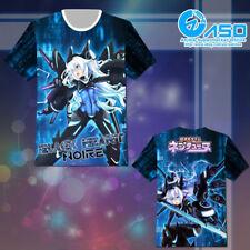 Anime T shirt Hyperdimension Neptunia Noire Black Heart Short Casual Tee Tops