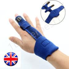 Blue Finger Extension Splint Trigger Malleable Metallic Hand Orthotics Braces UK
