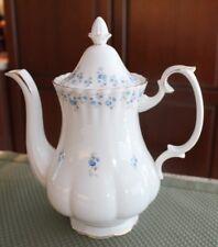 """Royal Albert -"""" Memory Lane """"- Large COFFEE POT made in England"""