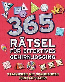 365 Denkspiele - Gehirnjogging für kluge Köpfe neu ... | Buch | Zustand sehr gut