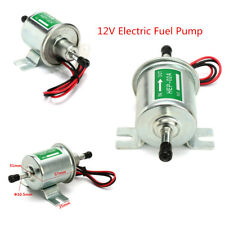 Aluminum Alloy Car Gas Diesel Low Pressure Electric Fuel Pump Petrol Pumps 12V