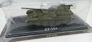 1/43 SU-101 Soviet Russian tank MODIMIO Deagostini COLLECTIONS scale 1/43
