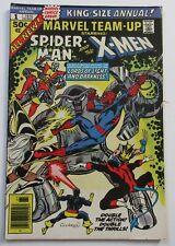 MARVEL TEAM-UP ANNUAL #1 Spider-man & X-Men x-over 1976