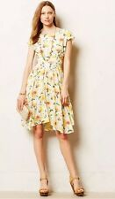 Anthropologie Spring Flora Dress By Lil Yellow Motive Size 0 Gorgeous