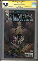 Thanos #13 CGC 9.8 NM/MT SIGNED 2X STAN LEE CATES 1st App COSMIC GHOST RIDER