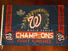 Washington Nationals World Series Champs 3x5 Flag. Free shipping within the Us