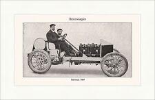 Darracq 1907 Rennwagen Zweisitzer Speichenrad Cabrio Phaeton Sport Lexikon 034
