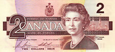 02 Canada / Kanada P94-96 2-10 Dollars 1986-1989 3 Pcs UNC