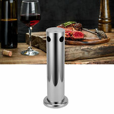 Stainless Steel Beer Tower Single Faucet Column Beverage Dispensing Container