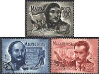 Ungarn 1446-1448 (kompl.Ausg.) gestempelt 1955 Berühmte ungarische Dichter