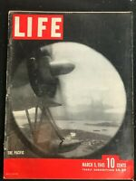 LIFE MAGAZINE - Mar 5 1945 - IWO JIMA / WWII / F.D.R.'s Daughter / King Saud /
