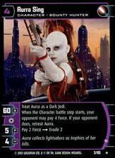 Star Wars TCG JG Jedi Guardians Aurra Sing (B) 3/105