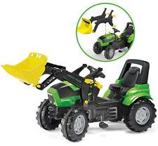 Rolly Toys RollyFarmtrac Premium Deutz-Fahr Agrotron Traktor mit Frontlader ...