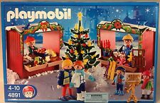 Playmobil  4891 Christmas Market  -  NEW