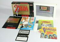 Zelda: A Link to the Past SNES Complete CIB ALL INSERTS AMAZING & NEAR MINT RARE