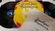 JESUS CHRIST SUPERSTAR IAN GILLAN (DEEP PURPLE) ORIGINAL CAST 70 *EX 2X VINYL LP