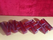 """Vintage Drive In  Movie Theater Marquee Sign Letters 3D """"WITH""""- 5""""  letters 1950"""
