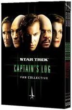 STAR TREK Fan Collection - CAPTAIN'S LOG - TV Collective Favourites  NEW DVD Set