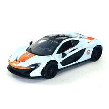 McLaren P1 Gulf Oil Racing Blue 1:24 Diecast Car Motormax 79642